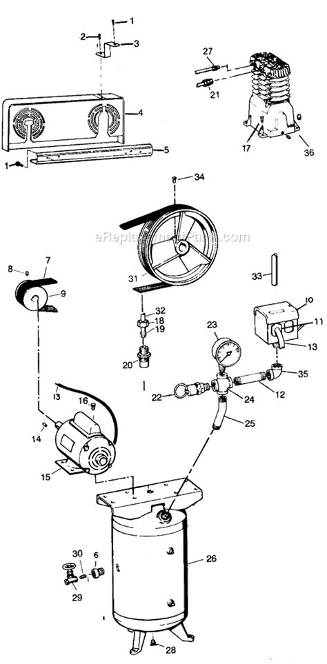 campbell hausfeld air compressor vt