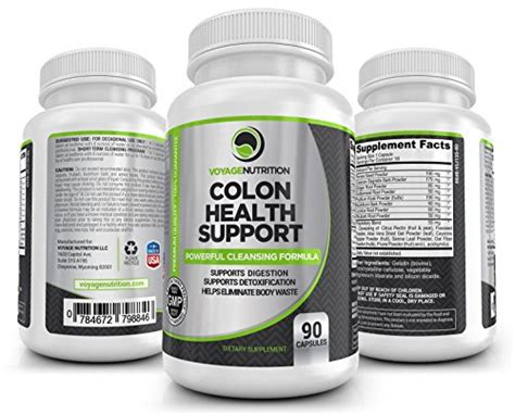 Strongest Detox Formula On Earth by Colon Health Support Powerful Colon Bowel Cleansing