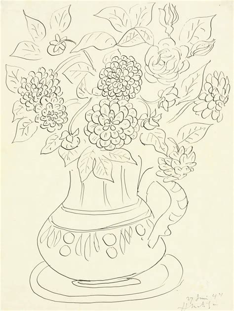henri matisse drawings 0500093288 henri matisse 1869 1954 le bouquet impressionist modern art auction 20th century