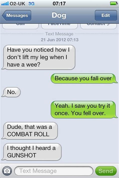 Funny Texts - best of texts from dog 25 pics