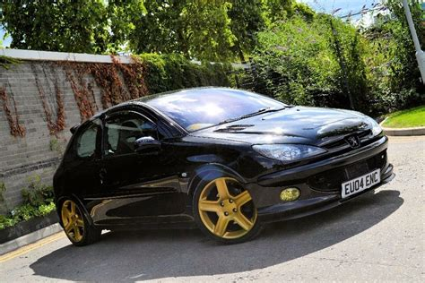 peugeot gti 206 peugeot 206 gti 180 low mileage modified in east ham