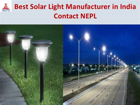 solar light manufacturer best solar light manufacturer in india contact nepl