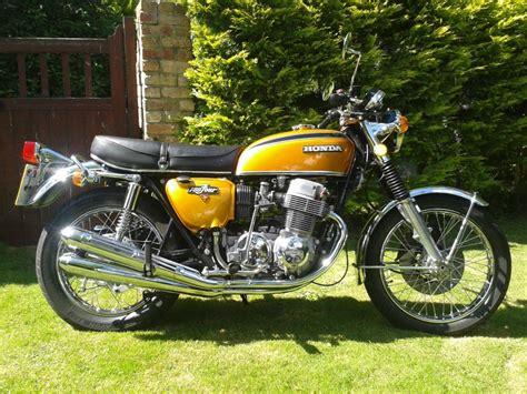 restored honda cb750 1973 photographs at classic bikes restored bikes restored