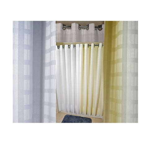 74 shower curtain 71 quot x 74 quot ezy hang dynasty shower curtain beige