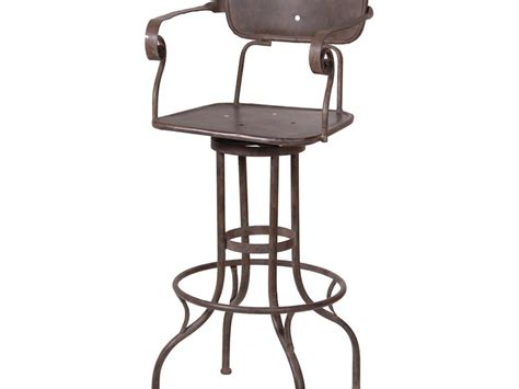 industrial metal bar stools with backs industrial bar stools with backs home design ideas