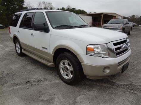 sell used 07 ford expedition eddie bauer 4x4 suv engine