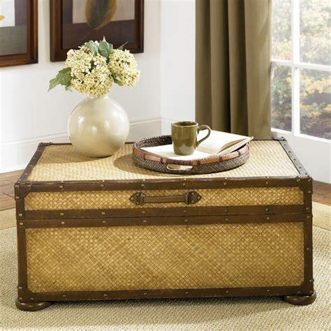 rattan coffee table trunk rattan coffee table trunk coffee table design ideas