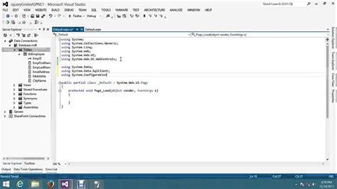tutorial jquery ajax asp net asp net jqgrid in asp net using jquery ajax method