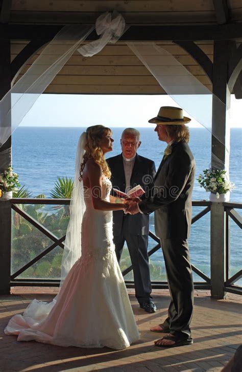 best time for wedding in california wedding in gazebo at heisler park laguna ca editorial photography image 41249177