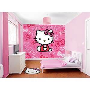 Hello Kitty Wall Murals Buy Walltastic Hello Kitty Wallpaper Mural Preciouslittleone