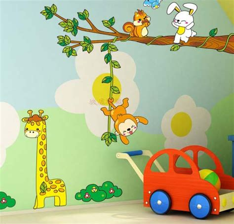 Wall Sticker Wall Stiker Stiker Dinding Animal Pororo Ay9175 jual sticker dinding wall sticker stiker animal xy