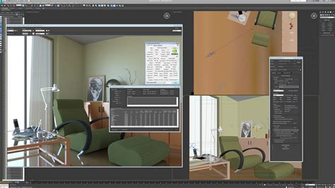 autodesk room 3ds max 2016 s iray renderer packs in a subtle change a mammoth perf boost techgage