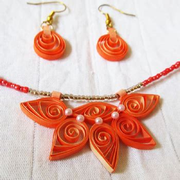 How To Make Paper Earrings At Home - how to make paper jewelry at home www pixshark