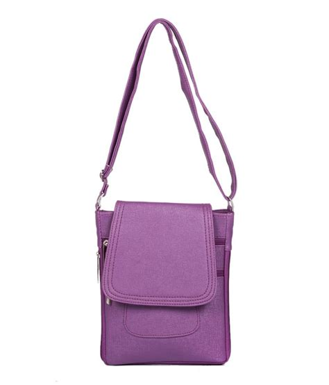 Purple Sling Bag buy afh purple sling bag at best prices in india snapdeal