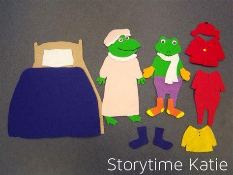 flannel friday froggy gets dressed storytime katie
