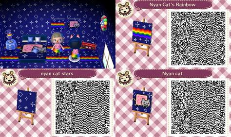 deviantart more like animal crossing new leaf qr anna from more nyan cat pattern by gumballqr deviantart com animal