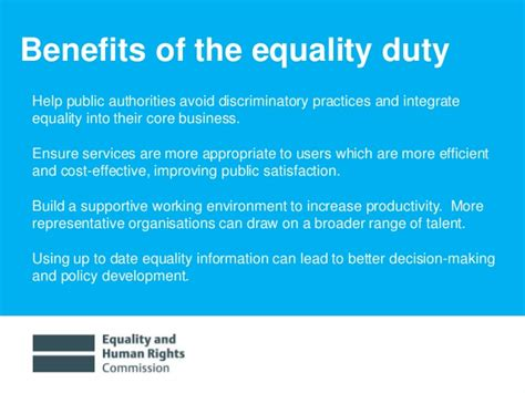 Benefits Of Mba For Dentists by What Is The Sector Equality Duty