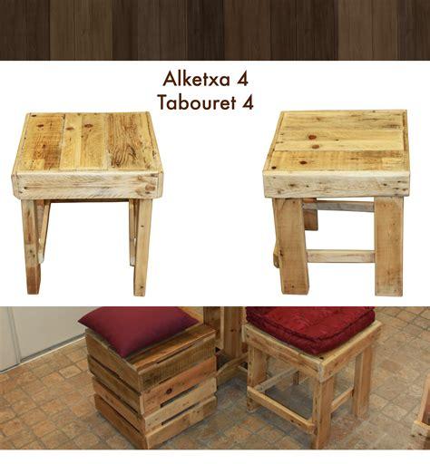 Tabouret De Bar En Bois De Palette by Tabouret Classique En Bois De Palette Paletwood