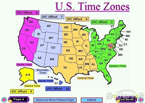 printable united states map with time zones and state names map of united states time zones us time zone names map