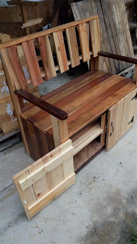 pallet bench instructions best 25 pallet benches ideas on pinterest pallet bench