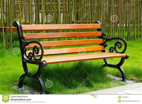 bench of park bench stock image image of lawn object china 14678841