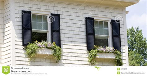 Decorating Old Homes window boxes royalty free stock photography image 5767877