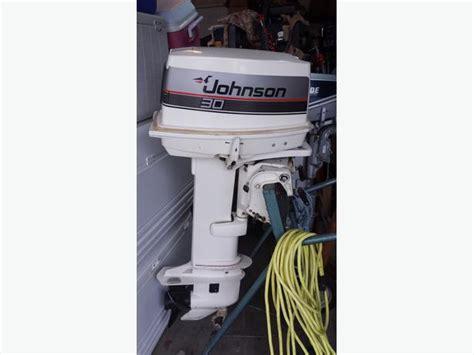 used outboard motors cbell river 1987 30 hp 2 stroke johnson outboard motor cbell river