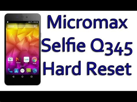 micromax a71 pattern unlock youtube micromax canvas selfie q345 hard reset pattern unlock