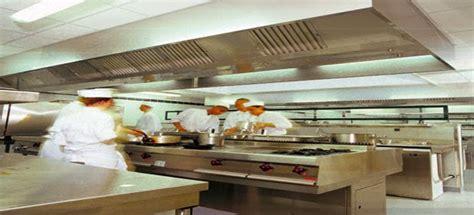 nettoyage hotte cuisine professionnel r 232 gles de conception d une cuisine professionnelle pour