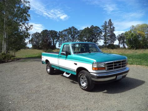 old car manuals online 1994 ford f150 regenerative braking beautiful 1994 ford f150 xlt 4wd owned rust free body all original nice for sale in