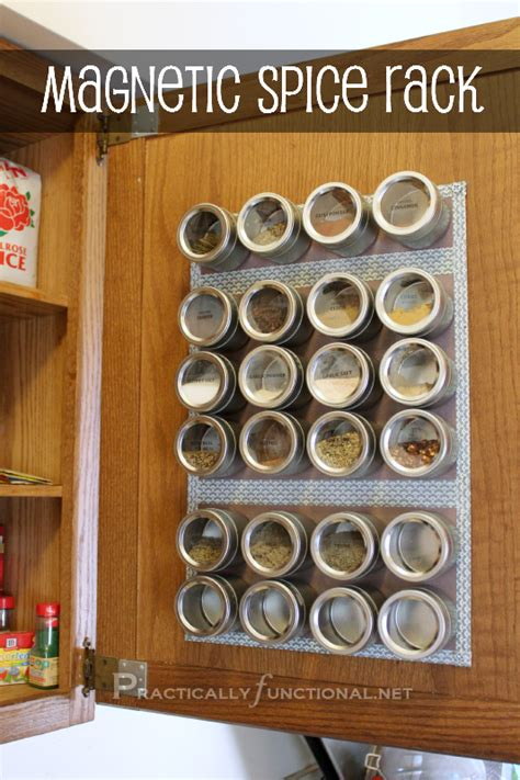 Kitchen Drawer Organizers Ikea - organize your spices with a magnetic spice rack