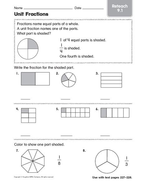 Unit Fractions Worksheet by Unit Fractions Worksheet Worksheets Tutsstar Thousands
