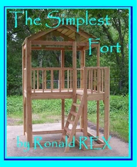 simple backyard fort plans 1000 ideas about outdoor forts on pinterest play fort