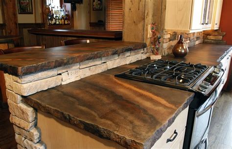Concrete Countertop Edge by 9 Exles Of Concrete Countertops Done Right Designcast