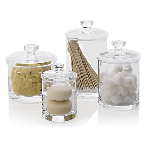 bathroom glass canisters 17 best images about canisters on pinterest pewter set