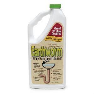 natural bathtub drain cleaner earthworm natural enzyme based family safe drain cleaner drugstore com