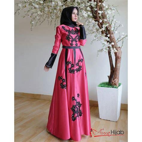 Rubiah Dress Premium gaun muslim pesta