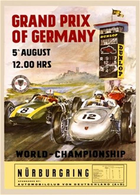 Poster Retro Otomotif grand prix vintage posters and transportation posters on