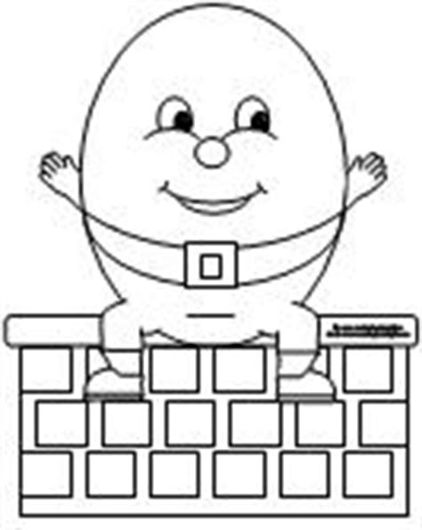 humpty dumpty puzzle template 6 best images of humpty dumpty craft printable free