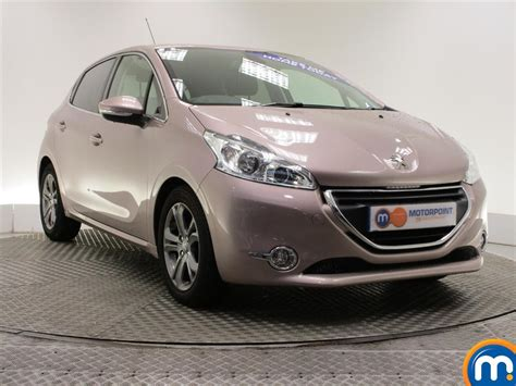 peugeot pink used or nearly new peugeot 208 1 6 e hdi allure 5dr pink