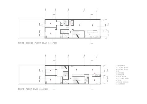 Floor Plan Of An Office Gallery Of Checker Box Office Complex Arsh Design Group 20