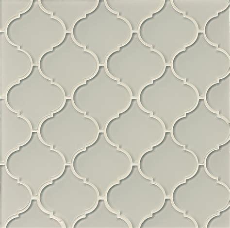 Pictures Of Glass Tile Backsplash In Kitchen bedrosians mallorca arabesque mist gray moroccan style