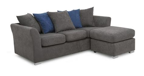 dfs corner couch dfs studio fabric sofa corner sofa left or right hand