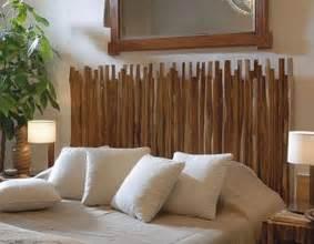 Schlafzimmer Aus Massivem Holz Die Kopfteil Aus Holzst 228 Ben F 252 R Coole Schlafzimmer Deko