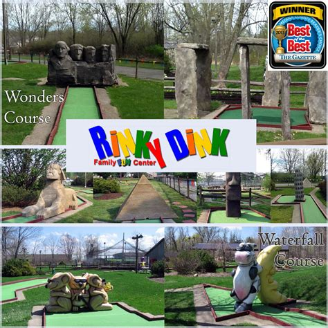 boat driving ohio mini golf go karts bumper boats and more at rinky dink