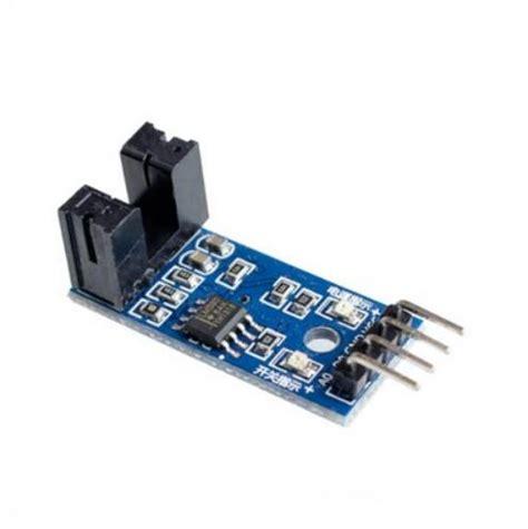Motor Speed Sensor Module Modul Kecepatan Slot Optocoupler Arduino B 1 speed measuring sensor groove coupler module for arduino