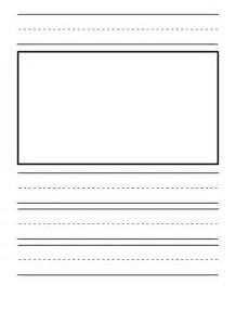 Journal Paper Template by Kindergarten Journal Paper Templates Teaching