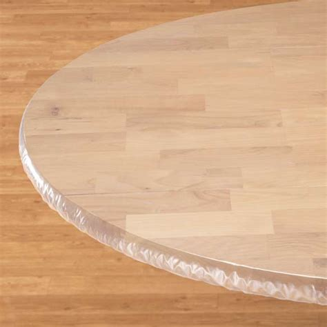 clear elasticized table cover elasticized table cover