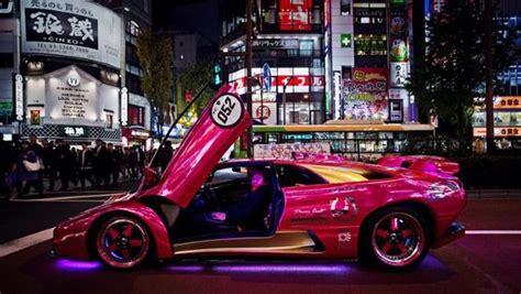 Japanese Lamborghini Check Out Japan S Led Lamborghini Mob 24 Pics