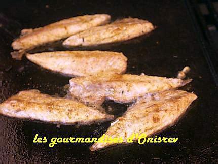 Filet De Maquereau Grillé Au Four by Recette De Filets De Maquereau Au Curry